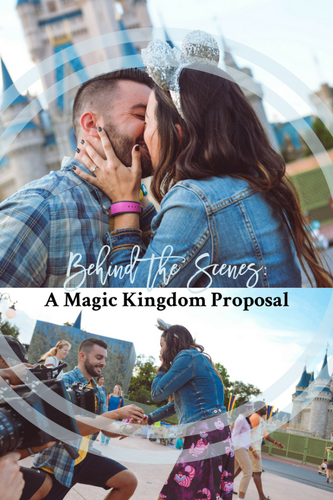 magic kingdom proposal, disney commercial