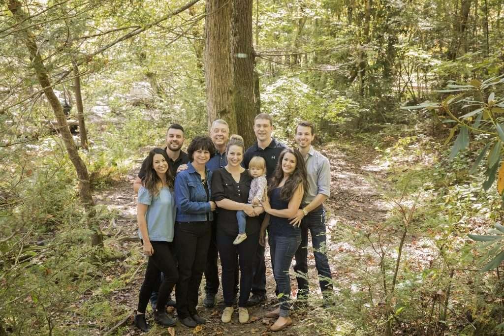 Gatlinburg, Metcalf Bottoms, family photos