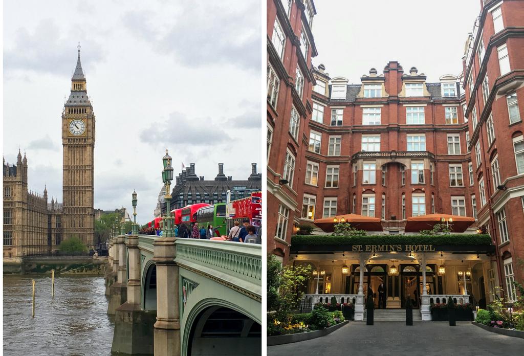 London, Big Ben, Marriott, Travel