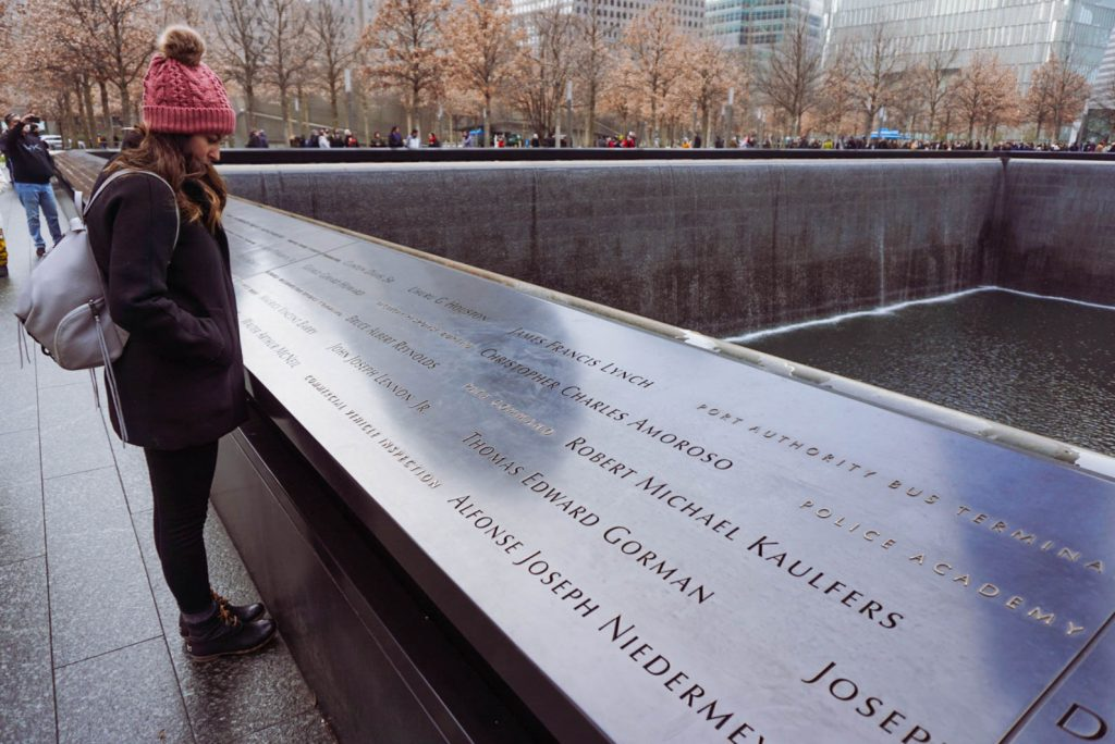 Ground Zero, National September 11 Memorial, 9/11 Museum, NYC, NYC must do, NYC guide #GroundZero #WorldTradeCenter #Memorial #NYCguide