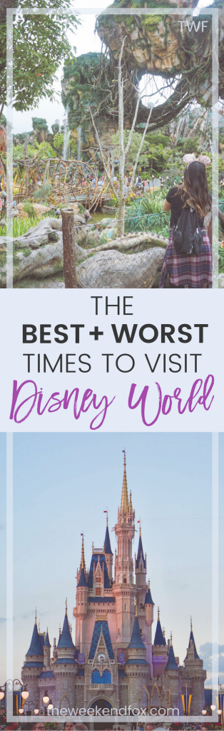 visit Disney World, best times to go to Disney, #DisneyWorld #DisneyVacation