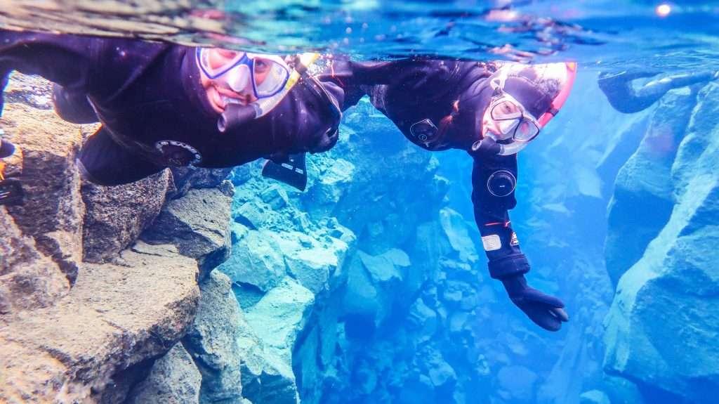 Snorkeling in Iceland, Snorkeling the Silfra, Silfra, Iceland, things to do in Iceland, Iceland bucket list, Iceland must-do, Þingvellir National Park, travel Iceland, visit Iceland, #Iceland #travelblog #sponsored