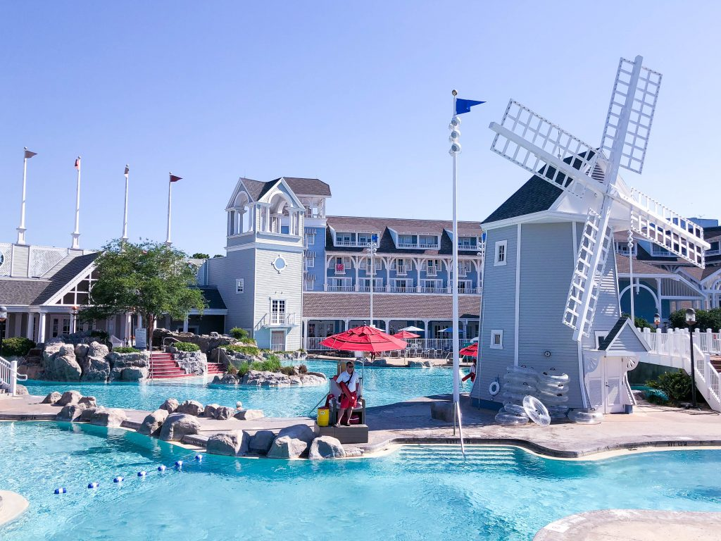Disney's Yacht and Beach Club Resorts // Where to Stay at Disney, Beach Club Resort, Yacht Club Resort, Stormalong Bay, Best Pools at Disney, Disney Resorts, Best Places to Stay at Disney World, Disney Deluxe Resort #DisneyWorld #BeachClub #YachtClub #ResortPools