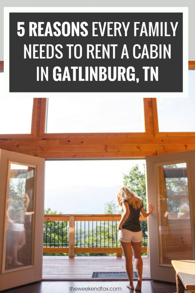 5 Reasons Every Family Needs to Rent a Cabin in Gatlinburg, TN // Places to Stay in Gatlinburg, Things to Do in Gatlinburg, Gatlinburg Cabins, Budget-Friendly Gatlinburg, Family Vacation, Family Vacation Ideas, #travelblog #Gatlinburg #FamilyVacation Photo Credit: Courtney Prather