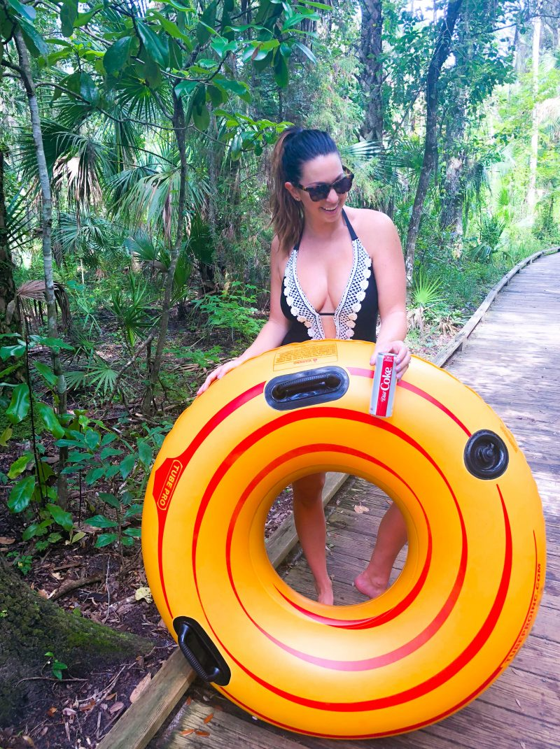 Tubing at Blue Spring State Park, Diet Coke Adventures, Central Florida Fun