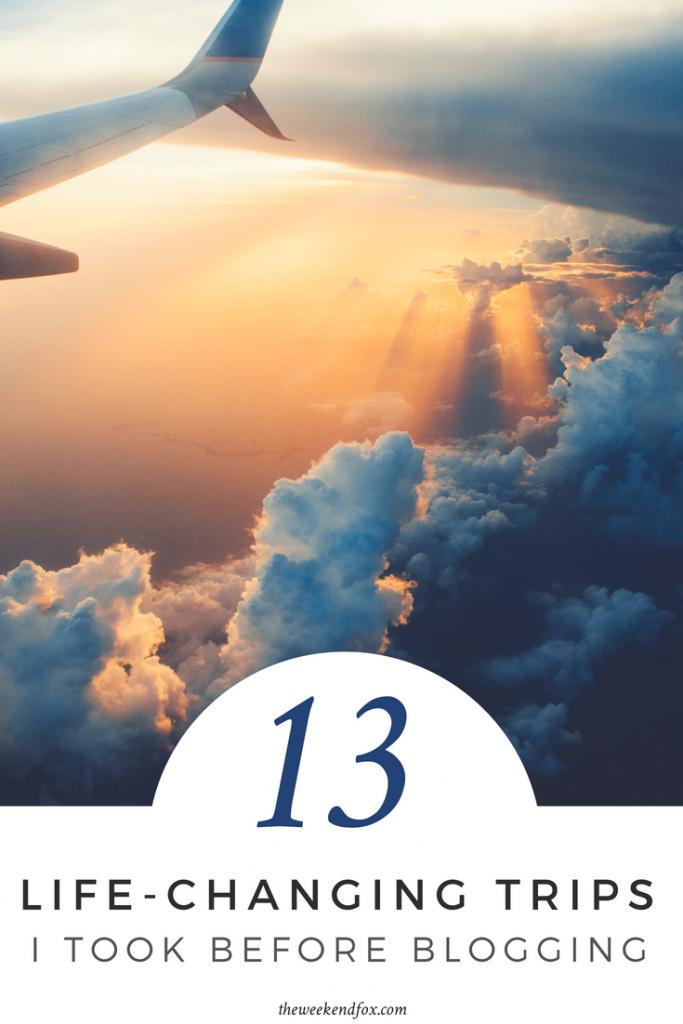 13 Life-Changing Trips I Took Before Blogging // travel inspiration, travel bug, travel tips, travel more, travel ideas, destinations, #travelblogger #travelmore #lifechanging #travelinspiration #travel #floridablogger #familytravel #coupletravel
