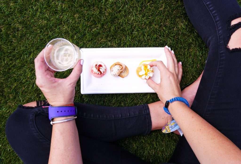 Epcot's Food & Wine Festival Cheese Trio, Disney World