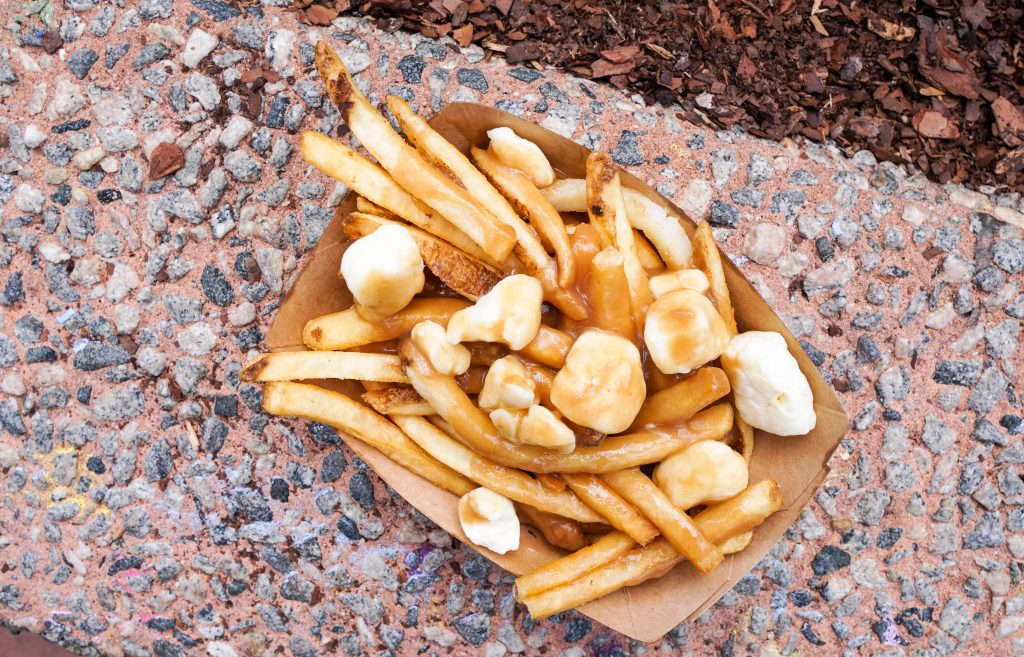 Epcot Food & Wine Festival 2018 traditional poutine