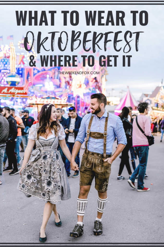What to Wear to Oktoberfest & Where to Get it // Oktoberfest Inspiration, Oktoberfest Outfits, Dirndl, Lederhosen, Oktoberfest in Munich, Where to Buy Dirndl, Couples at Oktoberfest, Beer Festival, Germany #travelblogger #oktoberfest #munichgermany #beerfestival #oktoberfestoutfit #floridabloggers #travelmore