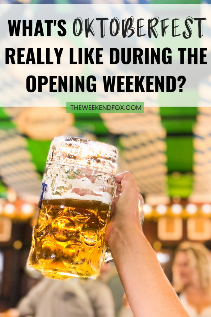 What's Oktoberfest Really Like During the Opening Weekend? // Oktoberfest Tips, Oktoberfest in Munich, When to Go to Oktoberfest, Oktoberfest Advice, Oktoberfest 2019, Oktoberfest First Weekend #oktoberfest #travelblogger #oktoberfesttips #floridablogger #oktoberfest2019