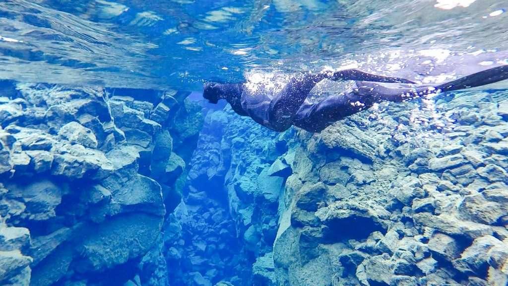Snorkeling the Silfra