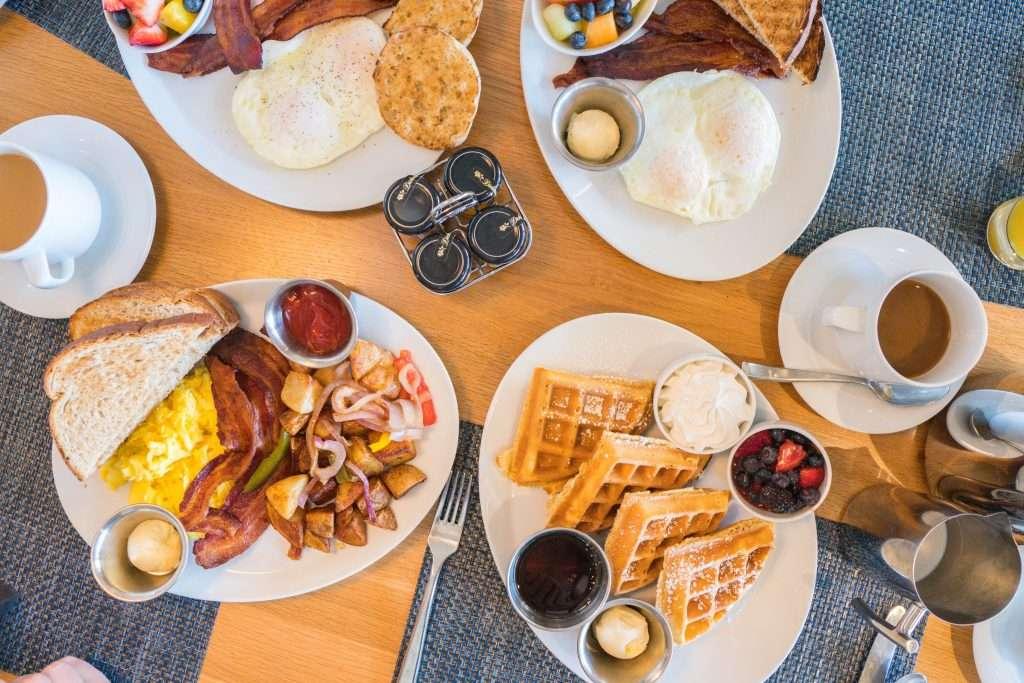 Breakfast at Drift Kitchen & Bar at Hutchinson Shores Resort and Spa