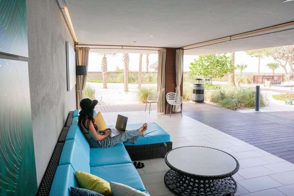 Zota Beach Resort Poolside Cabana