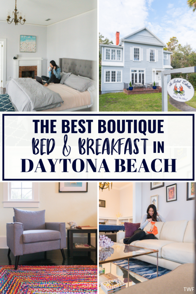 The Best Boutique Bed & Breakfast in Daytona Beach, Florida // bed and breakfast, where to stay in Daytona Beach, boutique hotels, Foxtail Estate, Daytona Beach hotels, Daytona Beach, Florida, historic downtown #sponsored #FoxtailEstate #florida #daytonabeach #bedandbreakfast
