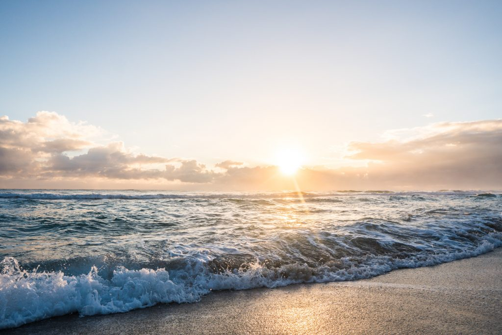 Things to do when you're in a funk // sunrise over the ocean in Jupiter, Florida
