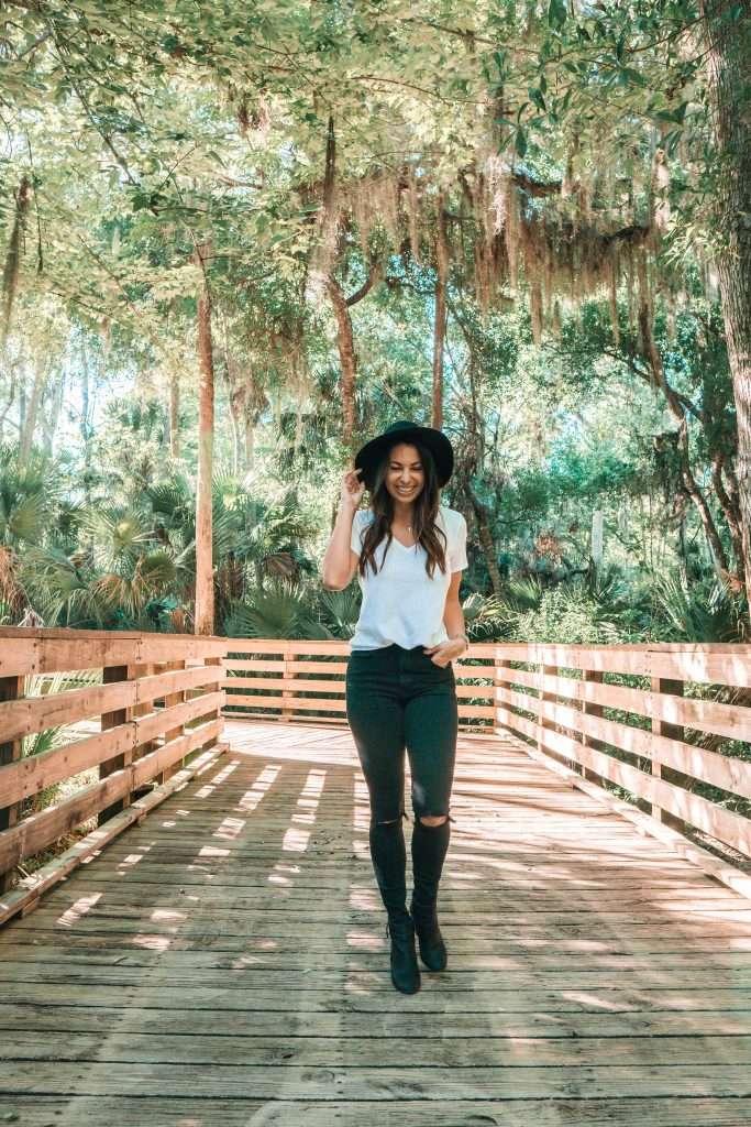 Florida scenery, walking through Florida, Florida blogger