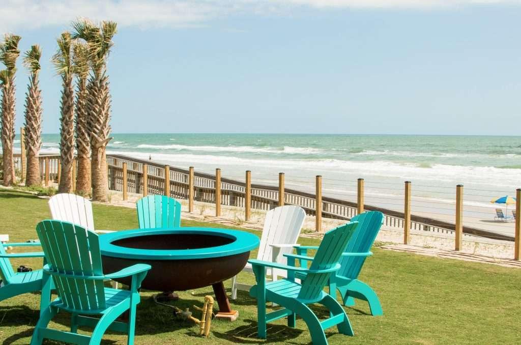 Views from Crabby's in Daytona Beach, Florida