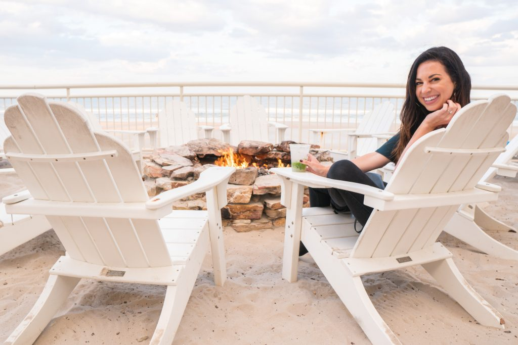 Firepit at The Shores Resort and Spa in Daytona Beach, Florida