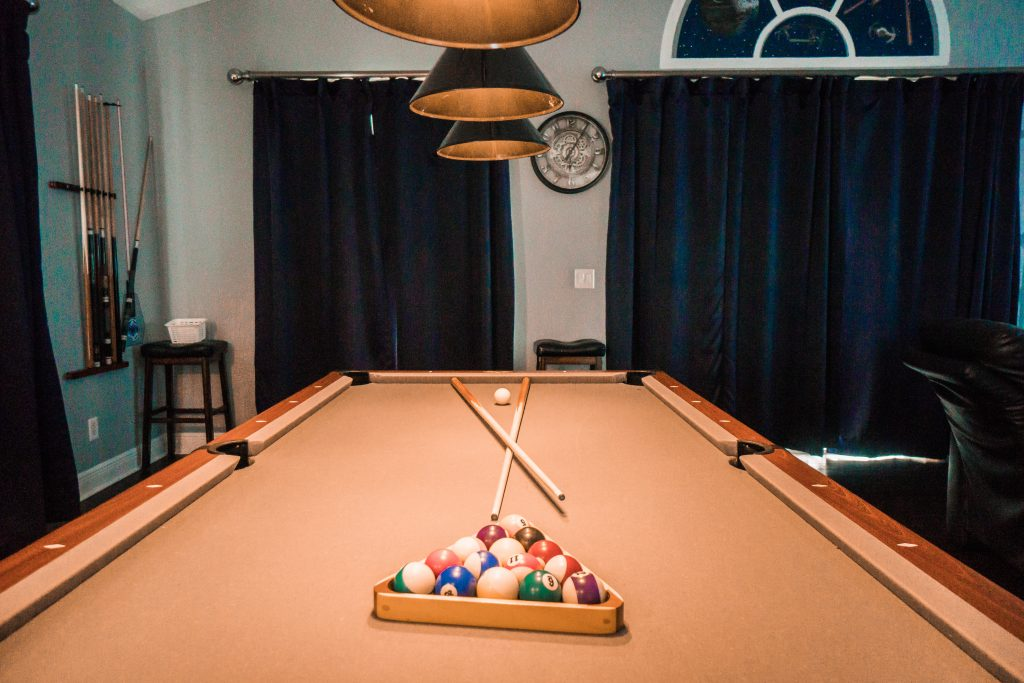 Star Wars themed game room in vacation rental
