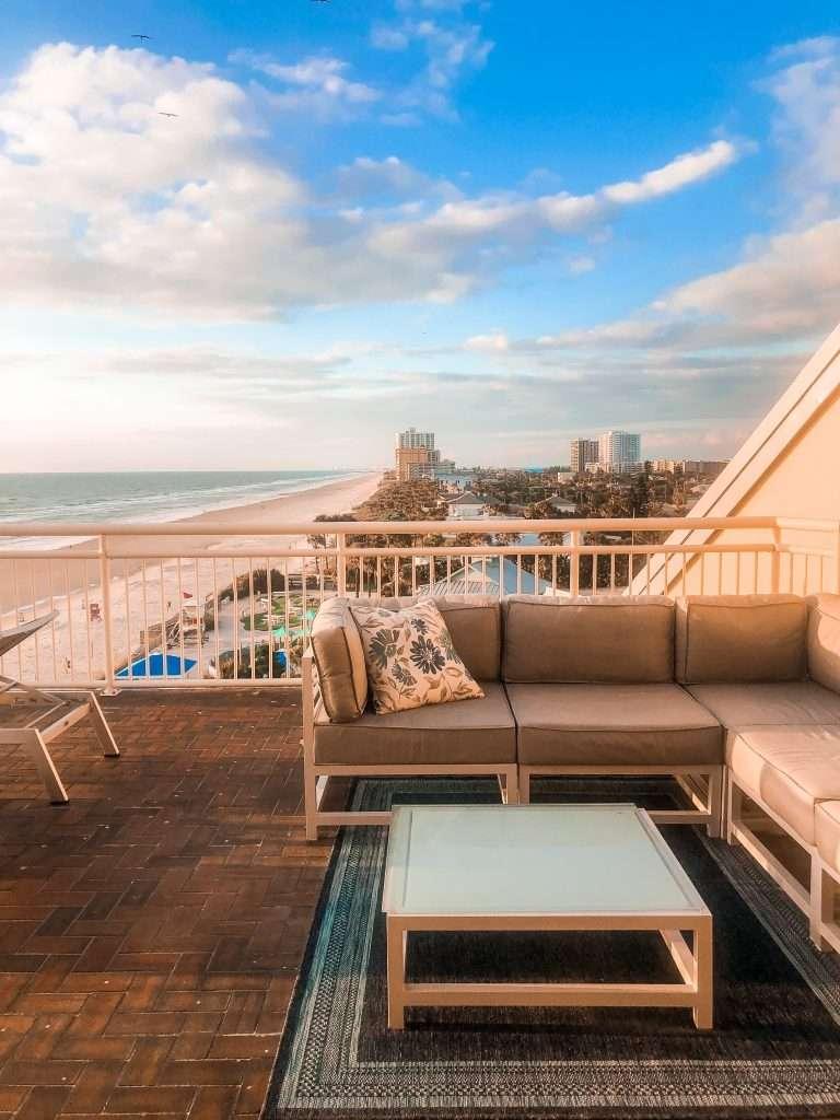 Morning views at The Shores Resort and Spa