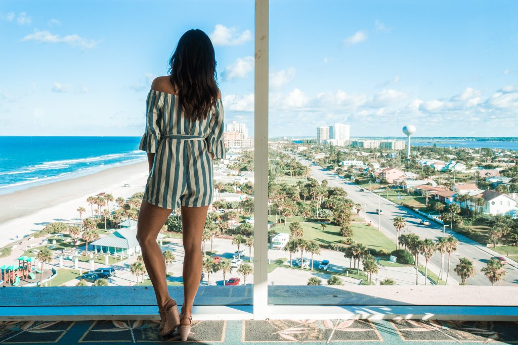Sip and Savor dinner views at The Shores Resort and Spa