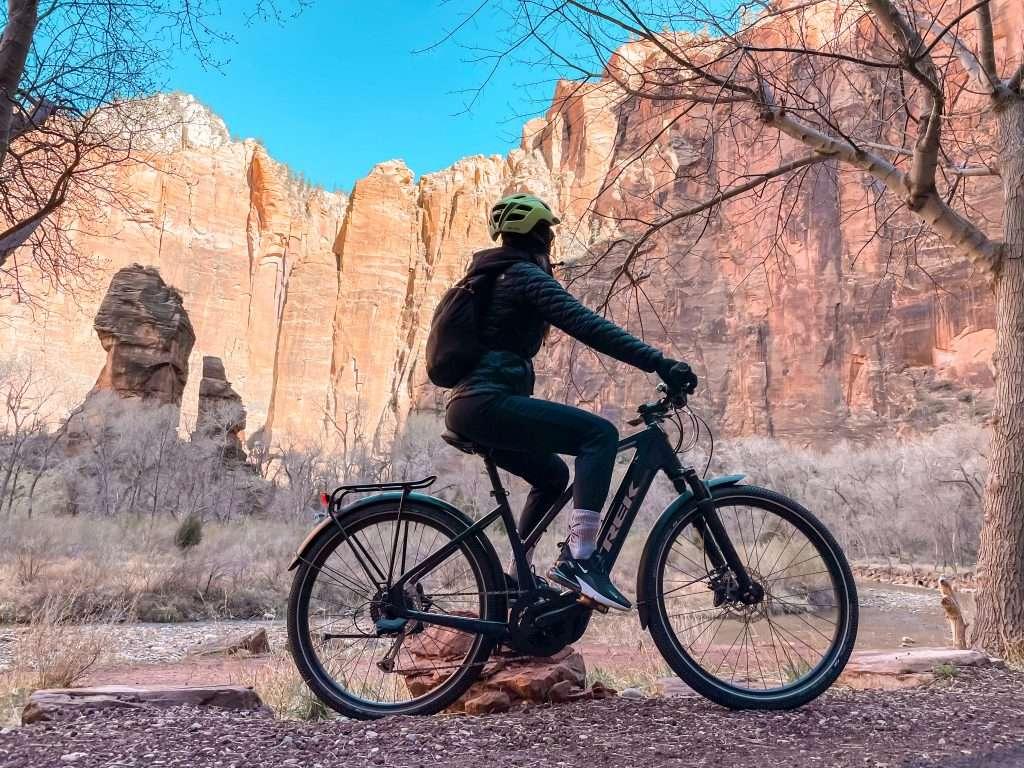 E-Bike in Zion