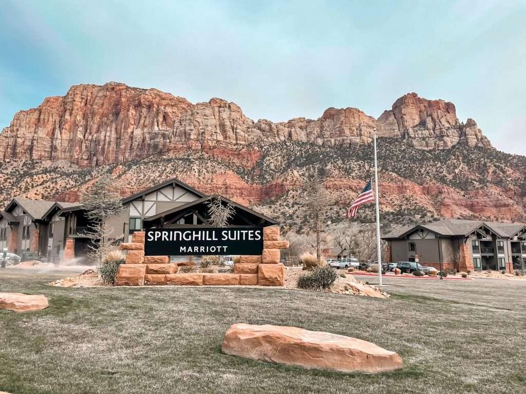 Springhill Suites in Springdale, Utah - Zion National Park