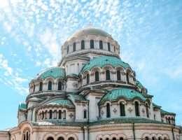 Cathedral in Sofia, Bulgaria